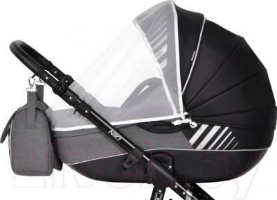 Детская универсальная коляска Riko Niki 2 в 1 (08/Black-White) - внешний вид модели в другом цвете