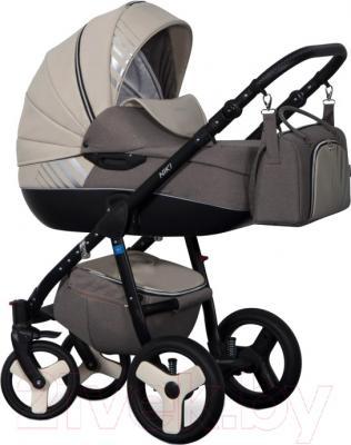 Детская универсальная коляска Riko Niki 2 в 1 (09/Latte)