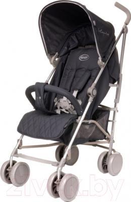 Детская прогулочная коляска 4Baby LeCaprice 2016 (темно-серый)