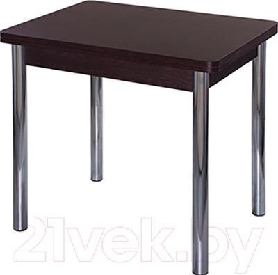 Обеденный стол Домотека Дрезден М2 (хром/венге)