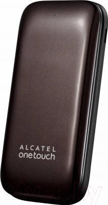 Мобильный телефон Alcatel One Touch 1035D (темный шоколад)