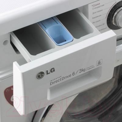 Стирально-сушильная машина LG F1296CD3