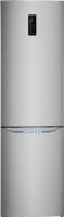 Холодильник с морозильником LG GA-B489SADN -