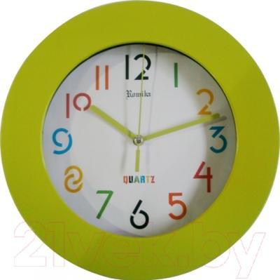 Настенные часы Romika RM-0137/EG (зеленый)