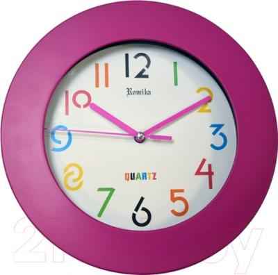 Настенные часы Romika RM-0137/EG (розовый)