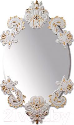 Зеркало интерьерное Lladro Funcional (белый с золотом)