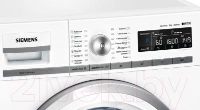 Стиральная машина Siemens WM16W540OE - панель управления
