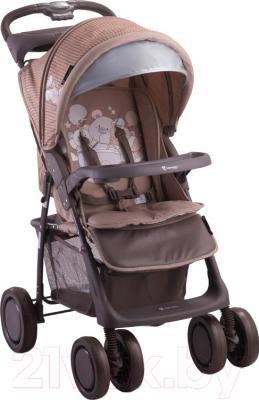 Детская прогулочная коляска Lorelli Foxy Beige Bear Toys (10020521627A)