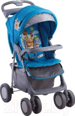 Детская прогулочная коляска Lorelli Foxy Blue Adventure (10020521610A)