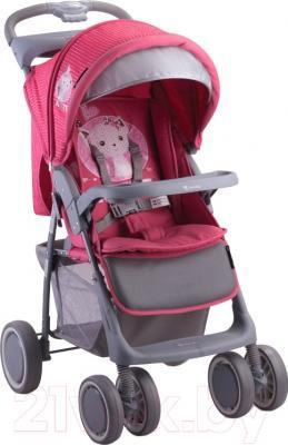 Детская прогулочная коляска Lorelli Foxy (Pink Kitten)
