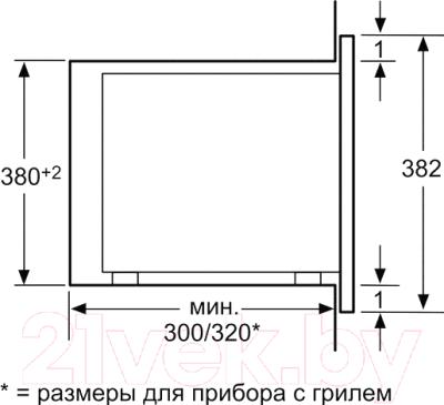 Микроволновая печь Bosch HMT75M624