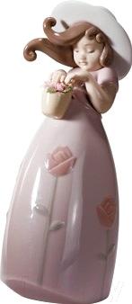 """Статуэтка Lladro Nios """"Маленькая роза"""""""