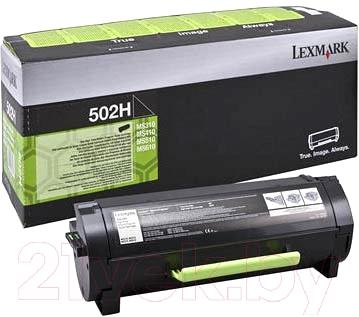 Тонер-картридж Lexmark 502HE (50F2H0E)