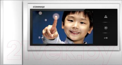 Видеодомофон Commax CDV-70KM (серебристый)
