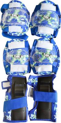 Роликовые коньки Sundays PW-117C-3 (S, голубой, защита в комплекте)