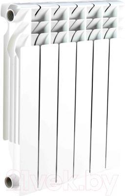 Радиатор алюминиевый Ogint Classic 500 (5 секций) - реальный вид товара может отличаться от представленного