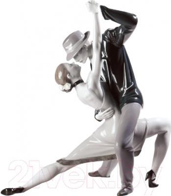 """Статуэтка Lladro Profesiones """"Страстное танго"""" (черный)"""