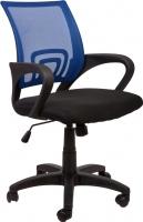 Кресло офисное Седия Omega (сине-черный) -