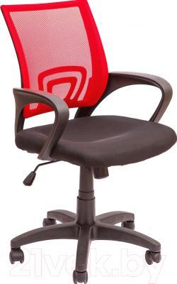 Кресло офисное Седия Omega (красно-черный)