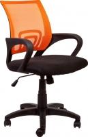 Кресло офисное Седия Omega (оранжево-черный) -