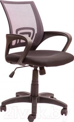 Кресло офисное Седия Omega (серо-черный)