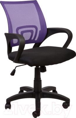 Кресло офисное Седия Omega (фиолетово-черный)