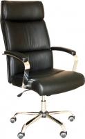 Кресло офисное Седия Adrian Chrome Eco (черный) -