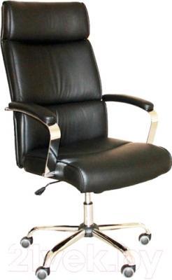 Кресло офисное Седия Adrian Chrome Eco (черный)