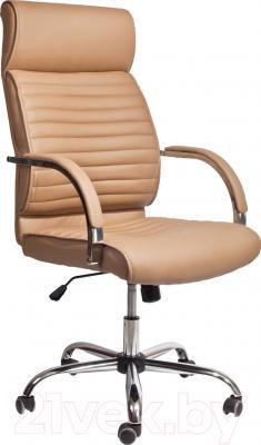 Кресло офисное Седия Alexander Chrome Eco (имбирь)