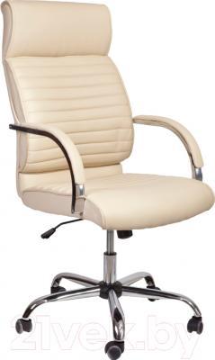 Кресло офисное Седия Alexander Chrome Eco (кремовый)