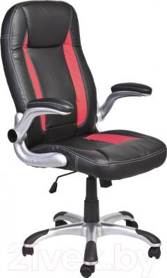Кресло офисное Седия Derby (черно-красный)