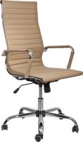 Кресло офисное Седия Elegance Chrome Eco (бежевый) -