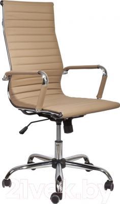 Кресло офисное Седия Elegance Chrome Eco (бежевый)