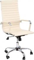 Кресло офисное Седия Elegance Chrome Eco (кремовый) -