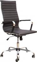 Кресло офисное Седия Elegance Chrome Eco (черный) -