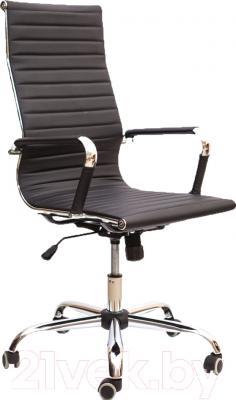 Кресло офисное Седия Elegance Chrome Eco (черный)