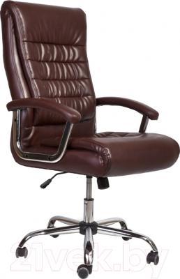 Кресло офисное Седия Ernest Chrome Eco (коричневый)