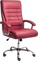 Кресло офисное Седия Ernest Chrome Eco (красное вино) -
