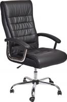 Кресло офисное Седия Ernest Chrome Eco (черный) -