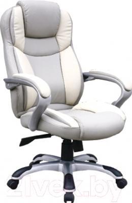 Кресло офисное Седия Forza Eco (серый/кремовый)