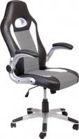 Кресло офисное Седия Lotus Eco (черный/белый/серый) -