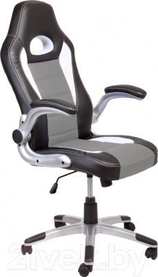 Кресло офисное Седия Lotus Eco (черный/белый/серый)