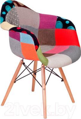 Кресло Седия Farina (разноцветная мозаика) - вид сбоку