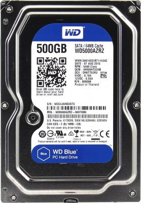 Жесткий диск Western Digital Blue 500GB (WD5000AZRZ)