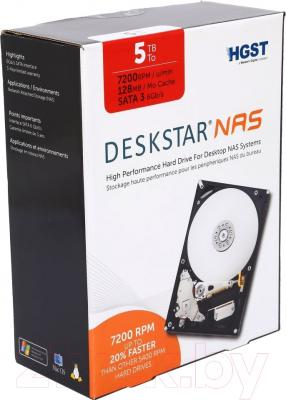 Жесткий диск Hitachi Deskstar NAS 5TB (H3IKNAS500012872SE)