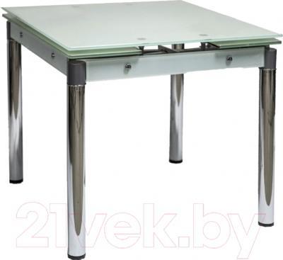 Обеденный стол Седия Karlota 16 (хром/белый)