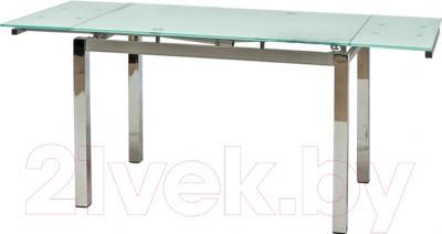 Обеденный стол Седия Karlota 2 (хром/белый)