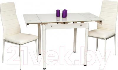 Обеденный стол Седия Karlota 66 (кремовый) - обеденная группа