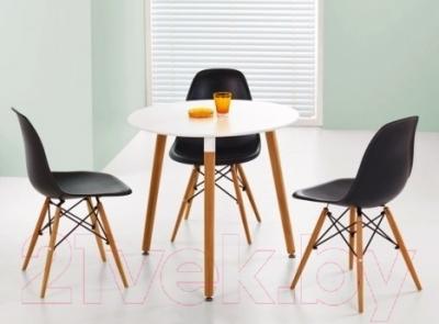 Обеденный стол Седия Testa Cirk (белый) - в интерьере