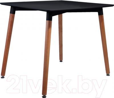 Обеденный стол Седия Testa Quat (черный)